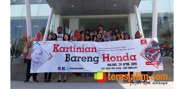 MPM Gelar Acara Kartinian Bareng Honda di Malang