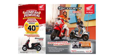 Promo Sumpah Pemuda, MPM Honda Jatim Berikan Potongan Angsuran Untuk Pembelian Honda Scoopy