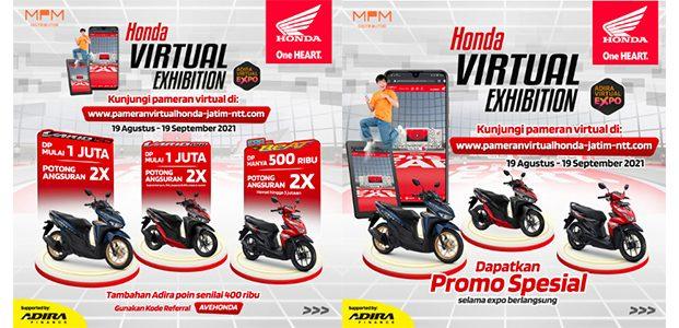 MPM Honda Jatim Kembali Gelar Pameran Honda Secara Virtual