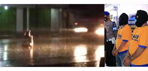 Viral Pria Bersila Dilindas Truk Tangki, Polisi Tangkap Sopir dan Kernet