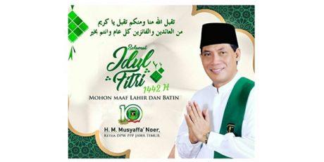 Musyaffa' Noer, Ketua PPP Jatim: Selamat Idul Fitri 1442 H