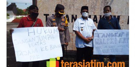 Jurnalis Bangkalan Kecam Aksi Arogan Pengawal Menteri