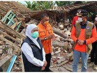 Kepala BNPB Tinjau Korban Gempa di Ampel Gading Malang