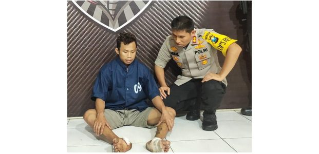Maling Motor di 14 TKP, Pria asal Ranuyoso Lumajang Dilumpuhkan