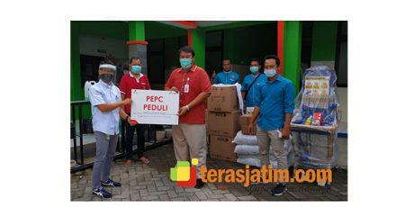 Masa Pandemi Corona, Manajemen dan Pekerja PEPC Beri Donasi