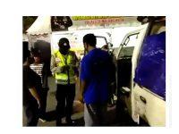 Sembunyi di Balik Terpal Mobil Barang, 3 Pemudik Yang Akan Masuk Malang Terciduk Petugas