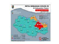 Masuk Zona Merah, Ini Sebaran Covid-19 di Kabupaten Tuban
