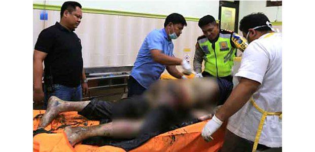 Mayat Pria Tanpa Identitas Tergeletak di dalam Selokan