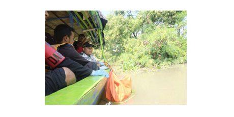 Mayat Wanita Tanpa Busana Ditemukan Mengapung di Sungai Londo
