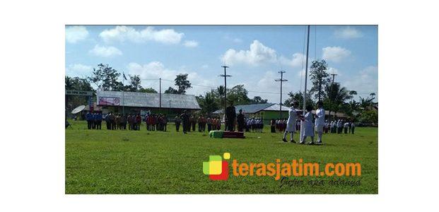 Melihat Suasana Hari Pahlawan di Perbatasan RI-PNG