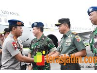 Mendarat di Malang, Kapolri Gelar Kunker ke Pusdik Brimob Watu Kosek