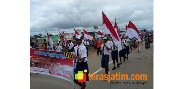 Menengok Kemeriahan Agustusan di Perbatasan Papua