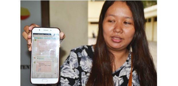 Mengaku Jadi Korban Penipuan Anggota Arisan Mama Gaul Datangi