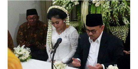 Selamat, Menteri ESDM  Sudirman Said Menikah