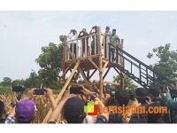 Menteri Pertanian dan Waaster KSAD Hadiri Panen Raya di Montong Tuban