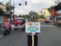 Menuju New Normal, Satlantas Polres Trenggalek Gencarkan Kampanye Wajib Pakai Masker Bagi Pengendara