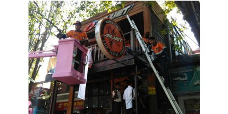 Menunggak Pajak Bertahun-tahun, Sebuah Cafe di Malang Disegel