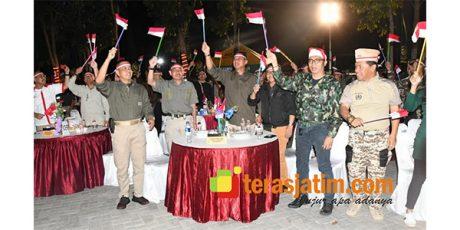 Pangdivif-2/Kostrad dan Danrem 083/Baladhika Jaya Kobarkan Semangat Merah Putih