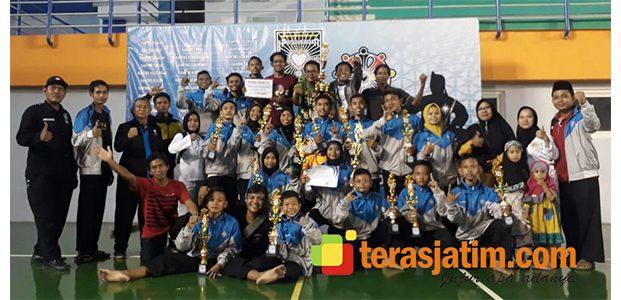 Meski Minim Atlet, PSHT Lamongan Kota Sabet Juara Umum III dalam Event Kejurcab di SCL