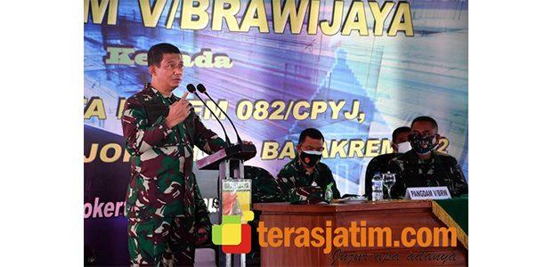 Pangdam: Prajurit Usia di Atas 50 Tahun Dilarang 'Ngantor'