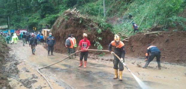 Ada Longsor di Pujon dan Ngantang, Jalur Malang-Kediri Terganggu