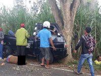 Pick Up Tabrak Pohon, 6 Perempuan Pulang Arisan Tewas
