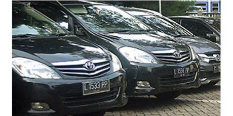 Mobil Dinas Wakil Rakyat 'kok' Diganti Plat Hitam?