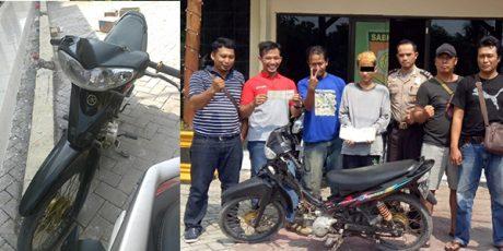 Nekat Curi Motor, ABG asal Panceng Gresik Dicokok Polisi