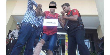 Gondol Mobil Mantan Juragan, Pria asal Deket Lamongan Dilumpuhkan Polisi