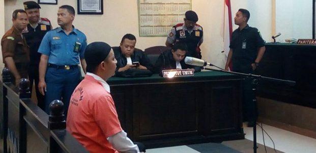 Oknum Anggota Brimob Pelaku Penembakan Mahasiswa di Jember, Divonis 10 Tahun Penjara