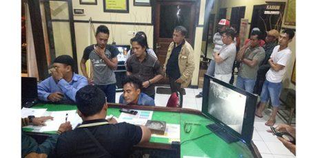 Kelayapan di eks Lokalisasi, 17 Pria Digaruk Polisi
