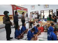 Operasi Pekat Semeru 2020, Polres Blitar Kota Ungkap 295 kasus
