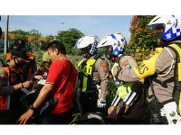 Operasi Penindakan Disiplin Prokes Digelar Serentak di Surabaya