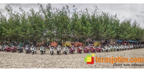 PCX Bikers Camp Ajang Silaturahmi Komunitas Honda PCX Jatim