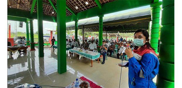 Sosialisasikan Tahapan Well Test Jambaran Central, Komitmen PEPC Dalam Garap Proyek Strategis Nasional