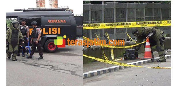 Tim Jibom Ledakkan Kotak Hitam Mencurigakan di PLTA Wlingi Raya Blitar