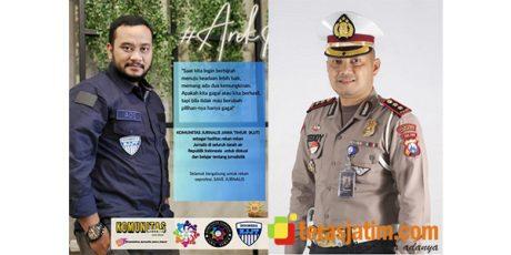 HUT Perdana KJJT, Kasat Lantas Polrestabes Surabaya Beri Respon Positif