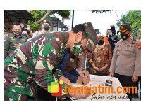 Pangdam, Gubernur dan Kapolda Jatim Tinjau Kampung Tangguh di Tulungagung