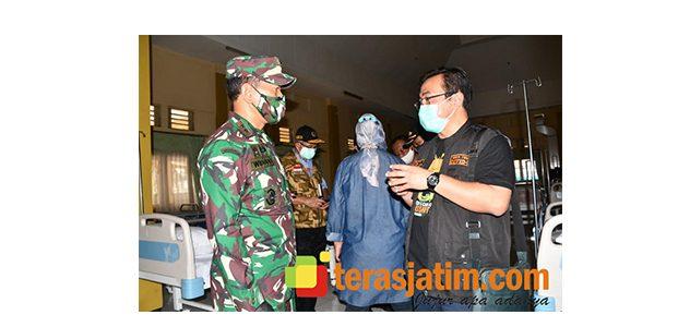 Pangdam Brawijaya Cek Kesiapan Rumah Sakit Darurat Covid-19 di Indrapura Surabaya