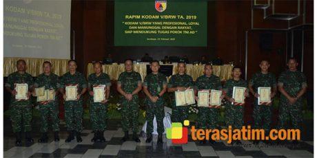 Pangdam Brawijaya Evaluasi Program Kerja Tahun 2018