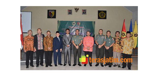 Pangdam Brawijaya Hadiri Pelantikan Rektor Universitas Merdeka Surabaya