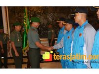 Pangdam Brawijaya Lepas Kontingen Yong Moo Do Untuk KSAD Cup di Bali