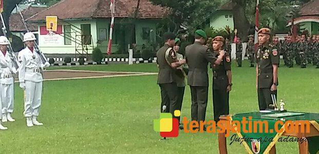 Pangdam Brawijaya Pimpin Sertijab Danyon Armed-8/105