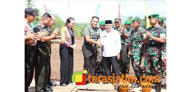 Pangdam Brawijaya Resmikan Dimulainya Pembangunan Arbhana Residence di Malang