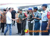 Mendarat di Malang, Presiden Jokowi Kunjungi Sejumlah Daerah di Jatim