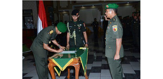 Pangdam Pimpin Sertijab Tujuh Pejabat Kodam V Brawijaya