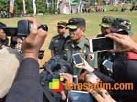 Pangdam Tutup TMMD ke-105 di Kabupaten Trenggalek