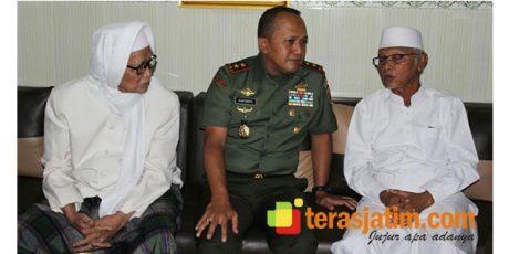 Pangdam V Brawijaya Kunjungi Ponpes Lirboyo Kediri