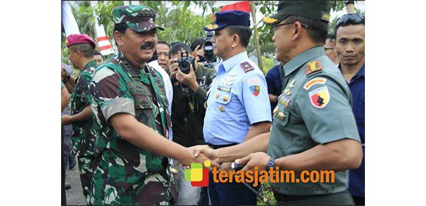 Panglima TNI Gelar Kunjungan Kerja ke Mojokerto