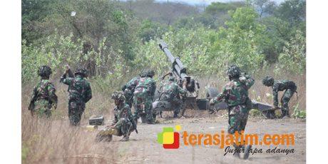 Panglima TNI Hadiri Latihan Tempur 3 Matra TNI di Situbondo